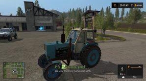 Мод на ЮМЗ – 6КЛ для игры Фермер Симулятор 2017