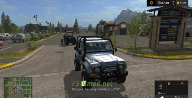 LAND ROVER DEFENDER 90 для FS 2017