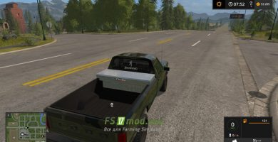 Автомобиль FORD F150 HUNTER для игры Фермер Симулятор 2017