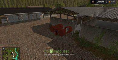 Заправка на ферме