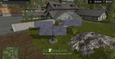 Мини электростанция из солнечный панелей