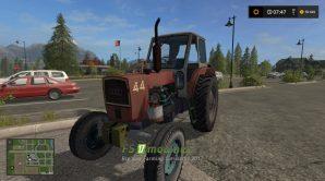 Мод на УМЗ 6 L для Farming Simulator 2017