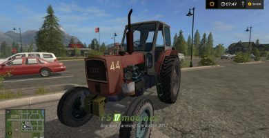 Мод на УМЗ 6 L для Farming Simulator 2017