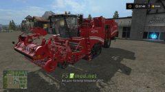 Мод GRIMME MAXTRON 620 II для игры Фермер Симулятор 2017
