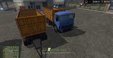 Грузовик MAZ 5516