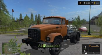 ЗИЛ 133 VYAT для игры Farming Simulator 2017