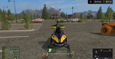 Мод SNOWMOBILE SKI DOO