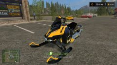 Мод SNOWMOBILE SKI DOO для FS 2017