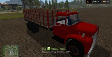 Грузовик 1970 INTERNATIONAL LOADSTAR GRAIN TRUCK для Farming Simulator 2017