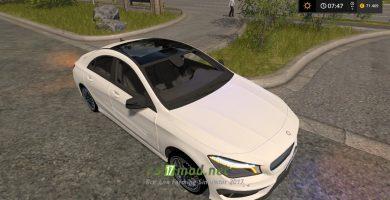 Автомобиль MERCEDES BENZ CLA 45 AMG для игры Фермер Симулятор 2017