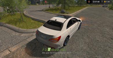 Автомобиль MERCEDES BENZ CLA 45 AMG