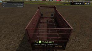 Прицеп ПРТ-11 для Farming Simulator 2017
