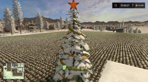 Мод CHRISTMAS TREE для Farming Simulator 2017