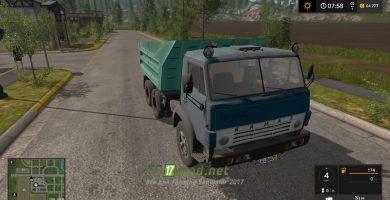 Мод КАМАЗ PACK для игры Farming Simulator 2017