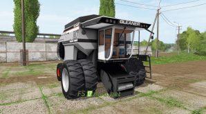 Мод GLEANER N7 для Фермер Симулятор 2017