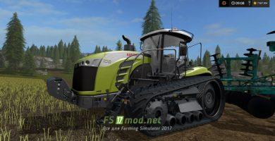 Гусеничный трактор Claas MT800E