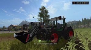 Мод трактора Fendt Xylon 524