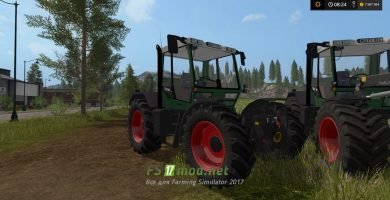 Fendt Xylon 524 mods