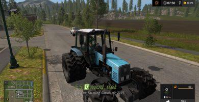 Трактор MTZ 1221 для Farming Simulator 2017