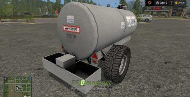 Прицеп AGRIMAT TE 4100 для игры Симулятор Фермера 2017