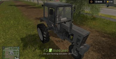 Мод MTZ БЕЛАРУС 80С для Farming Simulator 2017