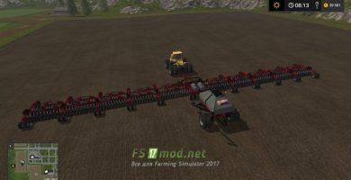Мод CASEIH CART AIR SEEDER 50METER для игры Симулятор Фермера 2017