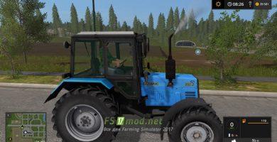 Трактор МТЗ 892.2 БЕЛАРУС для игры Farming Simulator 2017