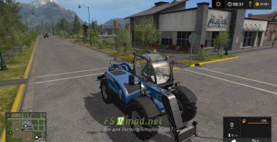 Мод NEW HOLLAND LM 742 для игры Фермер Симулятор 2017