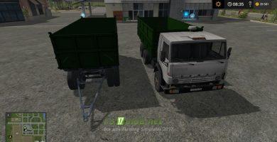 Грузовик КАМАЗ 740.10