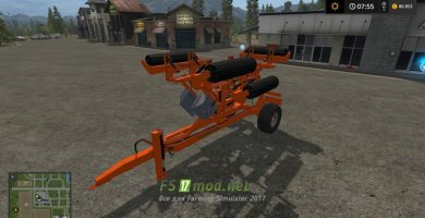 LAUMETRIS COMPACTION ROLLERS TVL-10 для Farming Simulator 2017