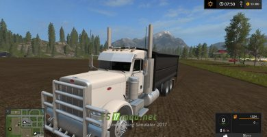 MODIFIED PETERBILT 389 GRAIN TRUCK