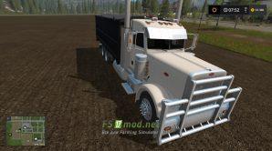 Грузовик MODIFIED PETERBILT 389 GRAIN TRUCK для FS 2017