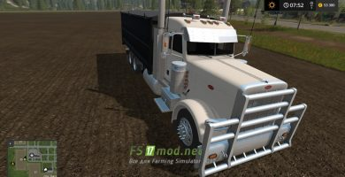 Грузовик MODIFIED PETERBILT 389 GRAIN TRUCK для FS 2017