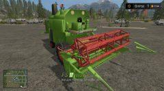 Комбайн CLAAS MERCATOR для Farming Simulator 2017