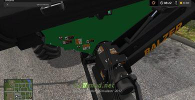 Мод BALZER 2000 для игры Фермер Симулятор 2017