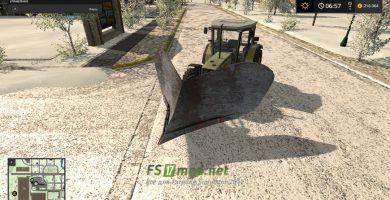 Мод на «Отвал-клин» для Farming Simulator 2017