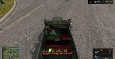 Автомобиль GAZ 69 для игры Симулятор Фермера 2017