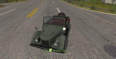 Автомобиль GAZ 69