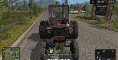 Трактор UMZ 6KL для игры Фермер Симулятор 2017