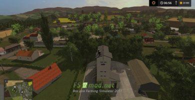 Карта La Ferme Bressane для игры FS 2017