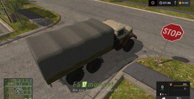 Грузовик Zil 131 SG