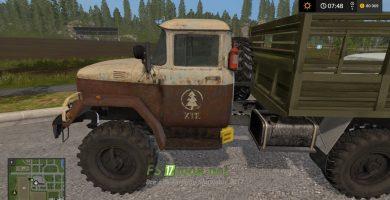 Грузовик Zil 131 SG для игры Фермер Симулятор 2017