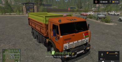 Мод КАМАЗ 53212 для Farming Simulator 2017