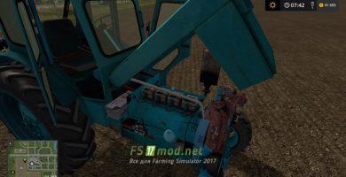 Трактор БЕЛАРУС T40 AM для игры Фермер Симулятор 2017
