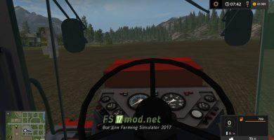 К-744р5 вид с кабины