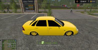Автомобиль ВАЗ Приора для Farming Simulator 2017