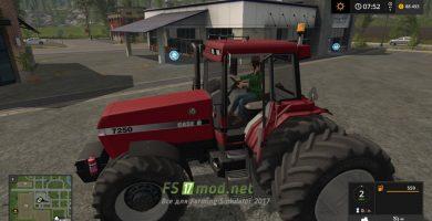 Мод на трактор CASE MAGNUM 7250