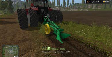 Плуг AGROSTROJ 3 PZ для игры Фермер Симулятор 2017