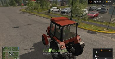 Мод на ЮМЗ 8240 для игры Симулятор Фермера 2017