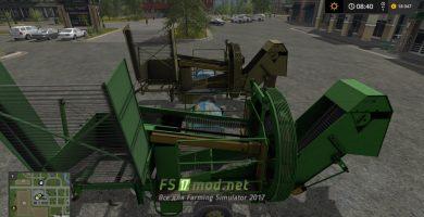 Мод на пак FORTSCHRITT E689 + KRAUTSCHLAGER для Farming Simulator 2017